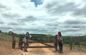 Cristiana e Rafaela no sul de Goiás